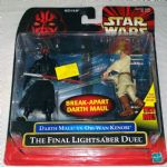 Star Wars Episode 1 Darth Maul vs Obi-Wan final duel misb 1999